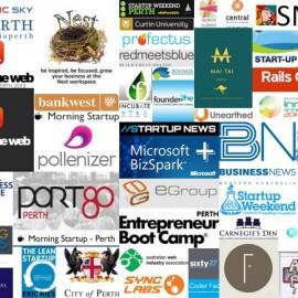 Startup Scene Logos